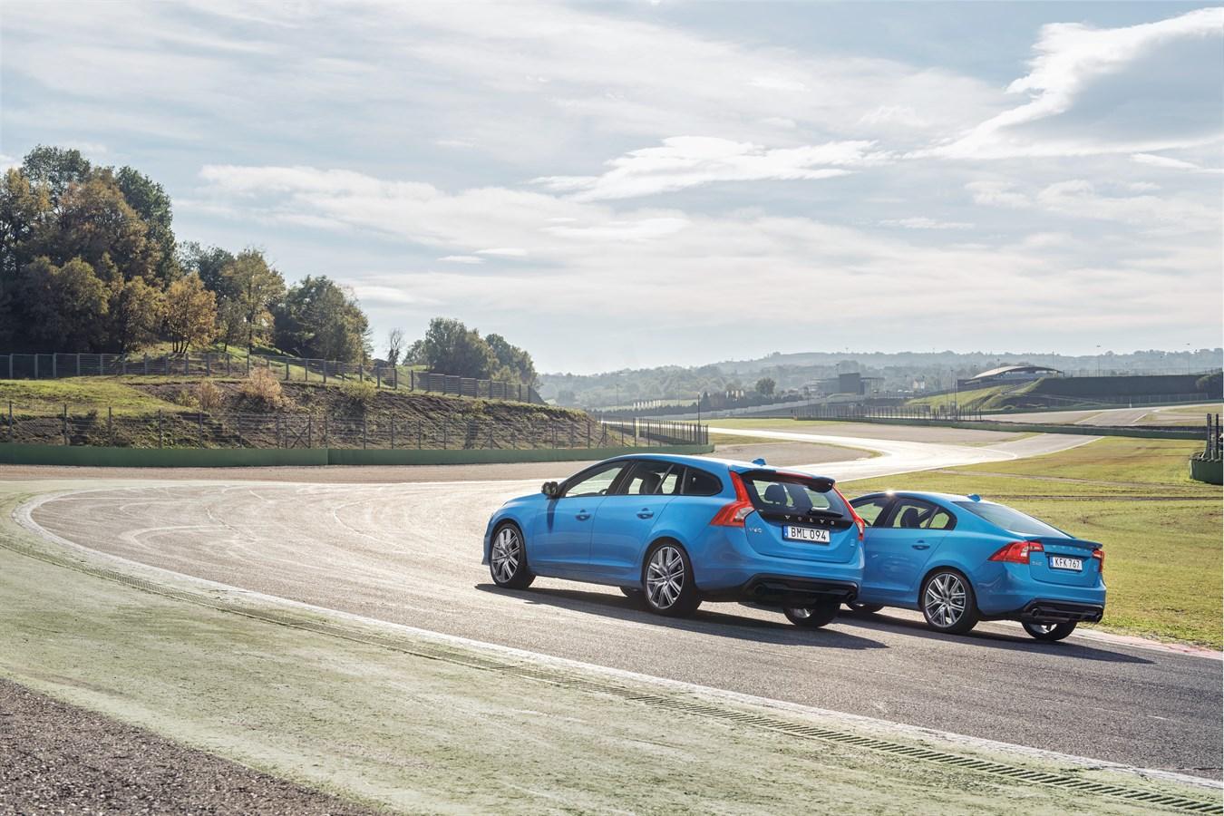 Volvo S60 and V60 Polestar location, static
