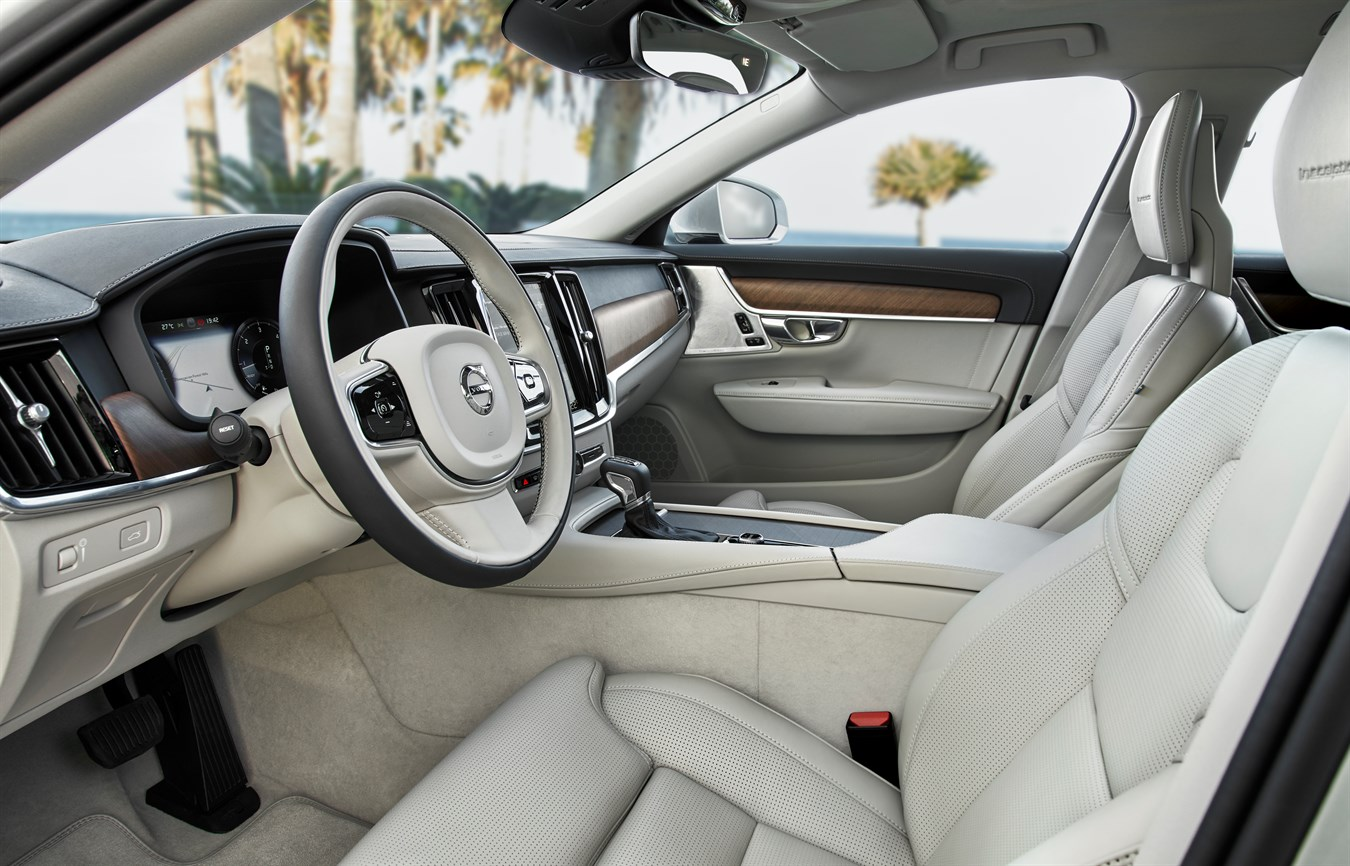 New Volvo S90 & V90 interior - Volvo Car Group Global Media Newsroom