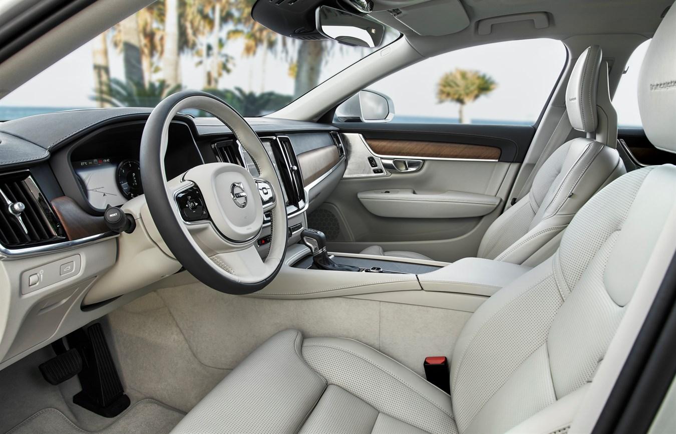 new volvo s90 v90 interior volvo car group global media newsroom. Black Bedroom Furniture Sets. Home Design Ideas