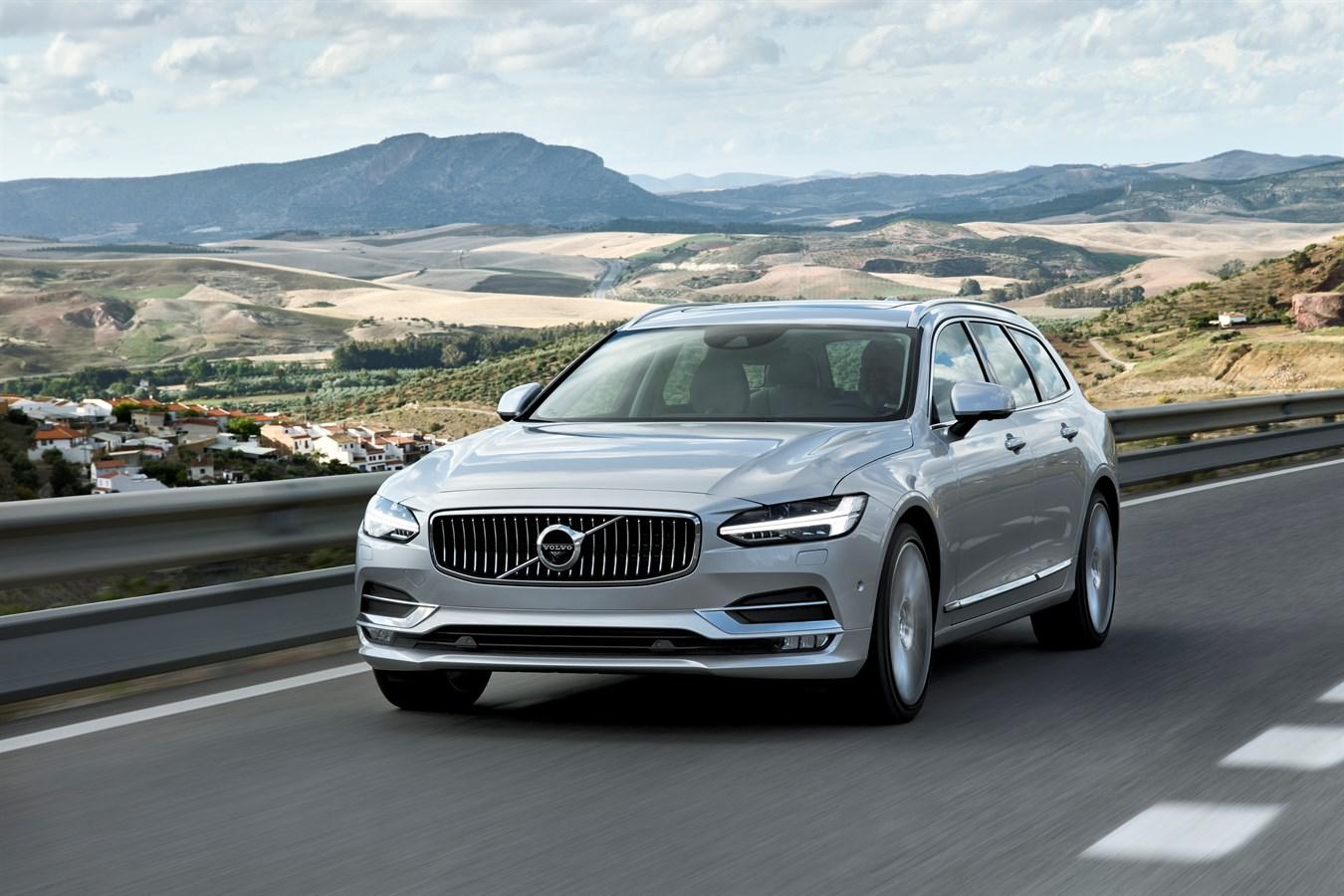 Новый Volvo V90