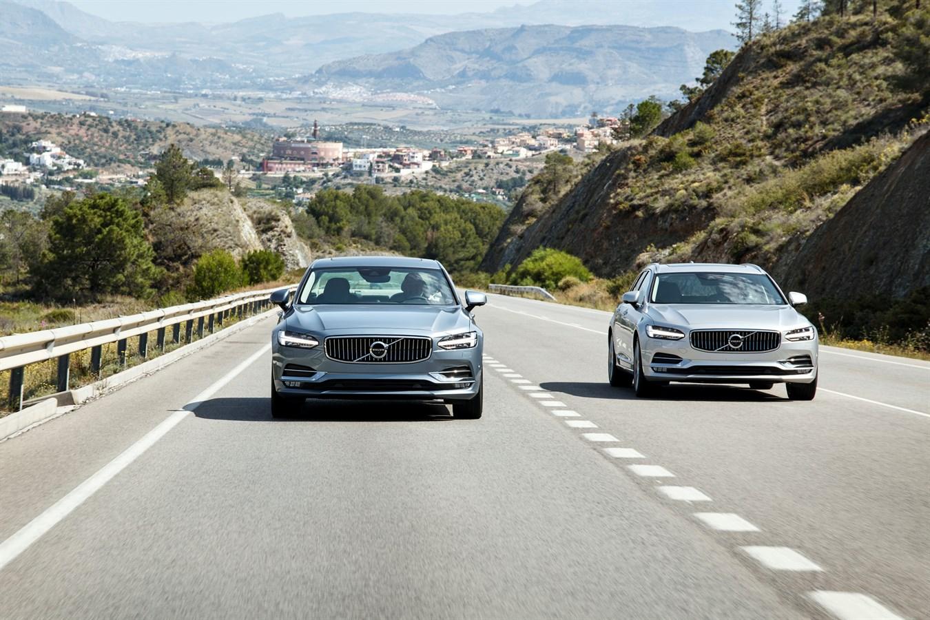 Volvo S90 и V90 получили высшую оценку по защите пешеходов в краш-тестах Euro NCAP