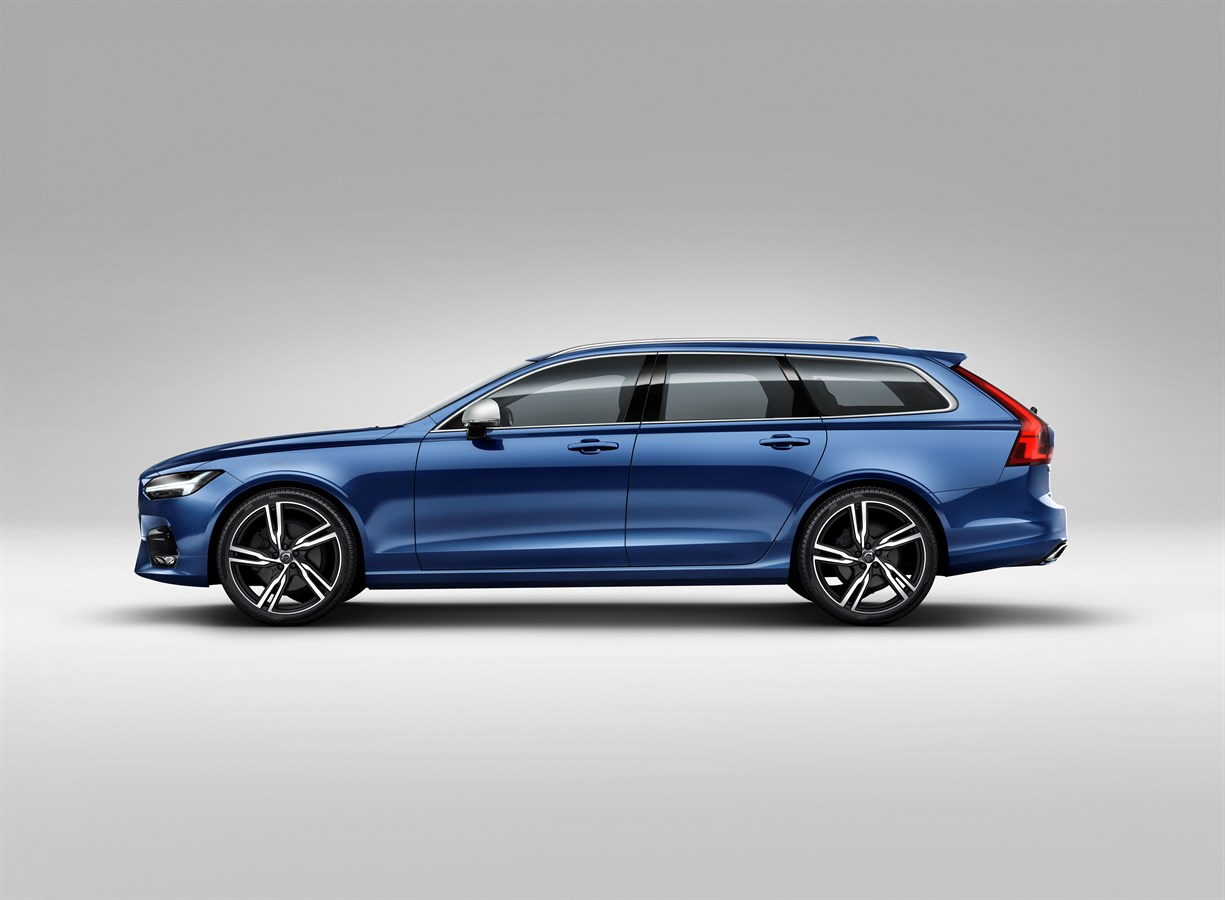 Volvo cars reveals sporty s90 v90 r design models volvo car group global media newsroom