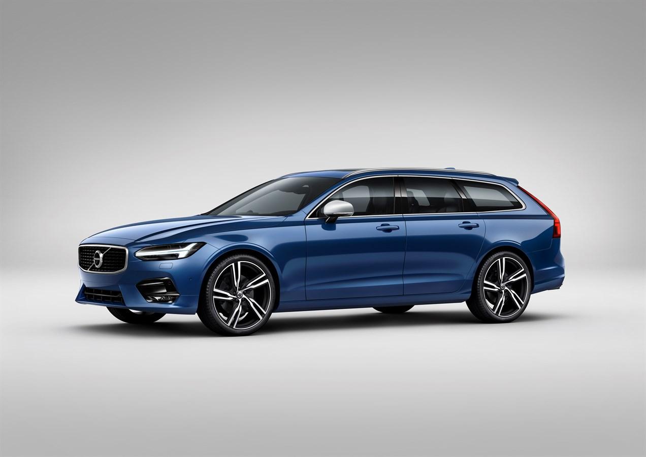 Volvo Cars Reveals Sporty S90 And V90 R Design Models Car Uk Media Newsroom