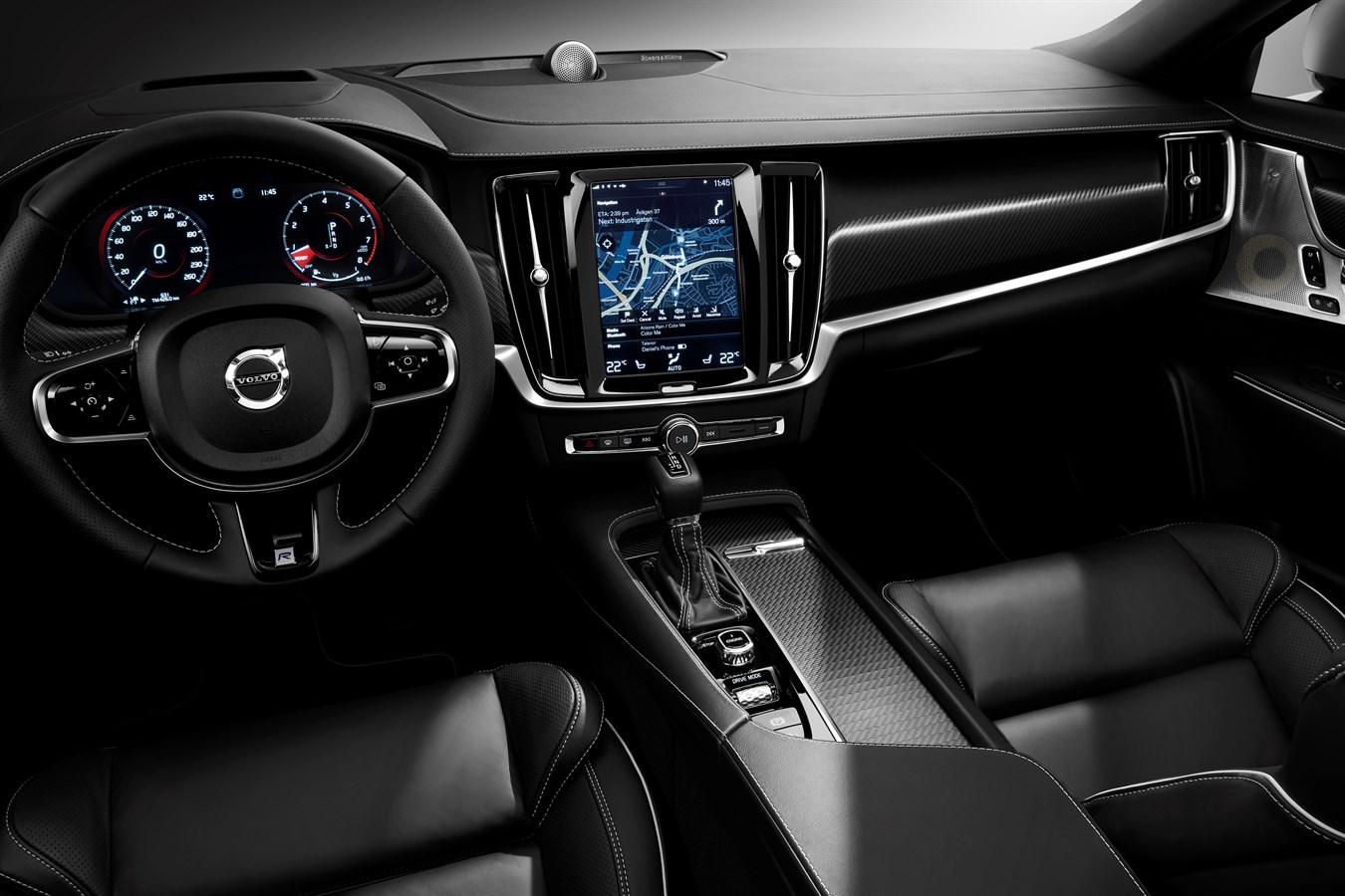 Volvo S90 und Volvo V90 R-Design: Interieur - Volvo Car Austria ...