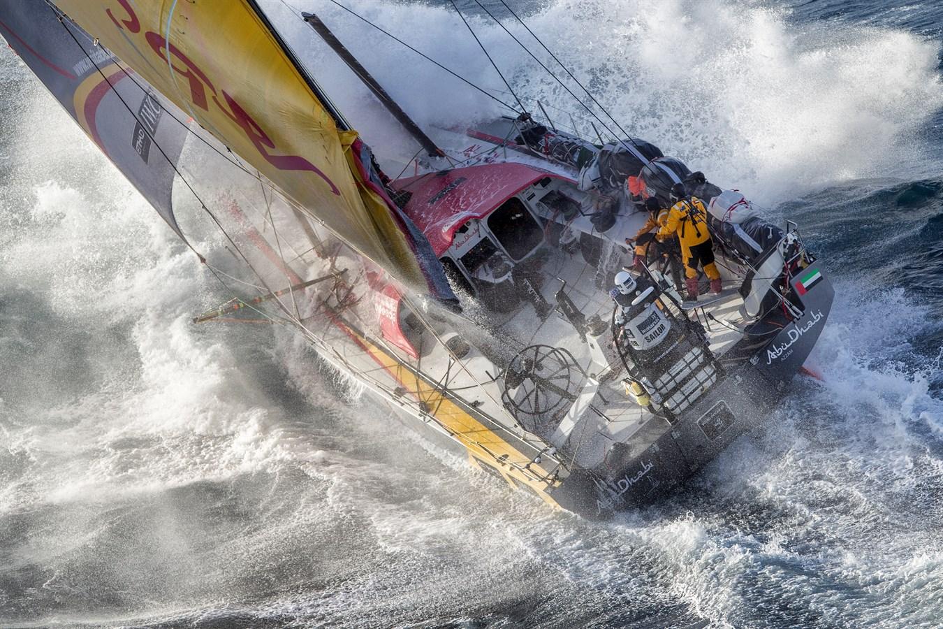 Volvo Ocean Race 2017 18 Die Harteste Segelregatta Der Welt Kehrt