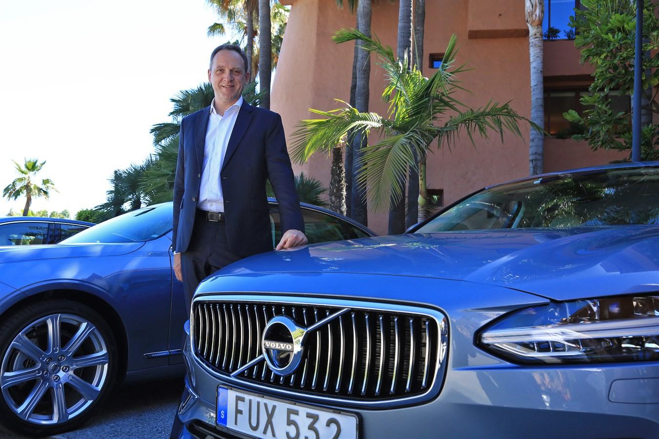 Yves Pasquier-Desvignes Président Volvo Car France juin 2016