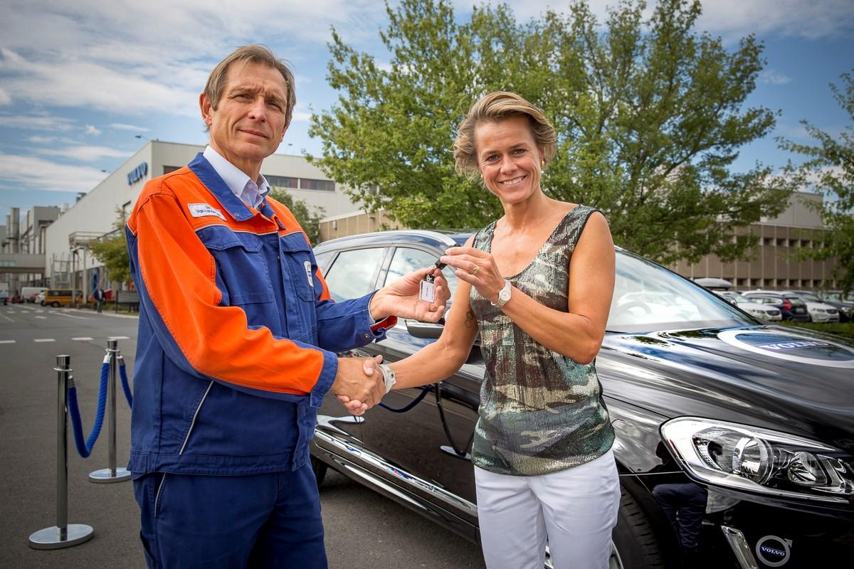 Gella Vandecaveye wordt sportieve ambassadrice van Volvo Cars