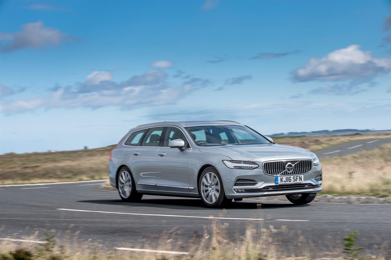Volvo V90 Crowned Best Estate In Uk Car Of The Year Awards 2017 Media Newsroom