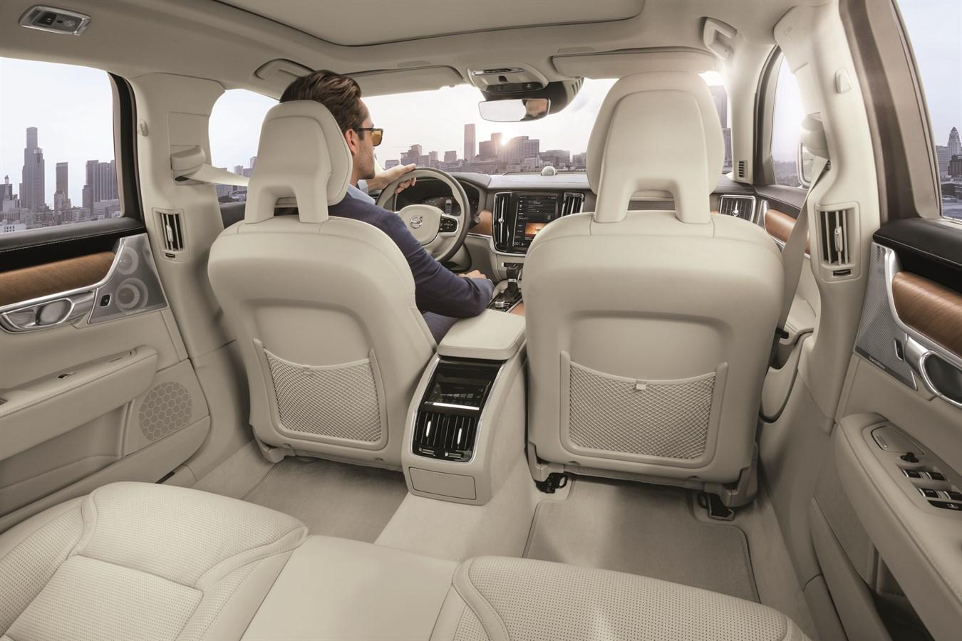 Volvo S90 Interior >> Volvo S90 China Version Interior Volvo Cars Global Media