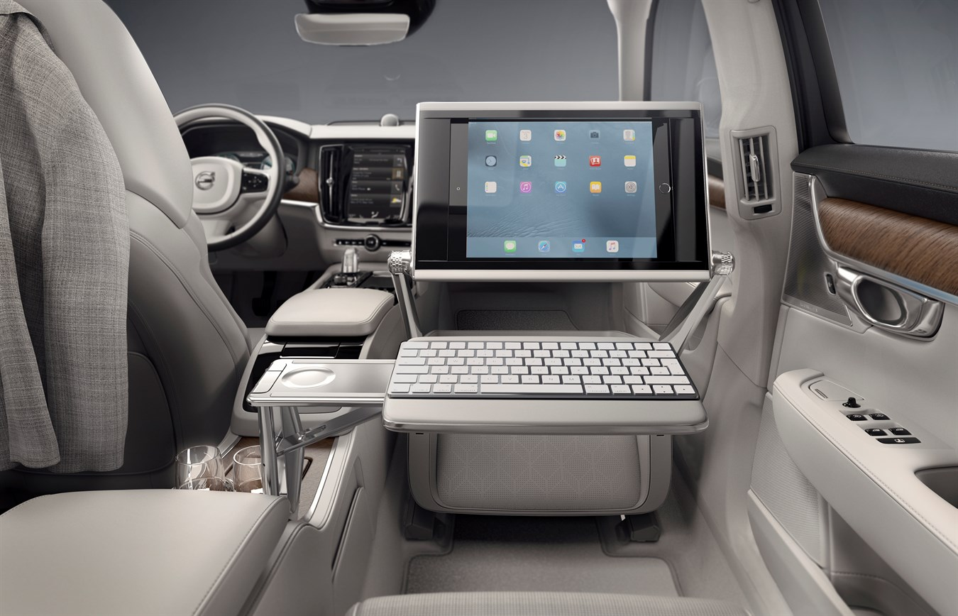 Volvo S90 Excellence interior keyboard - Volvo Car Group Global ...