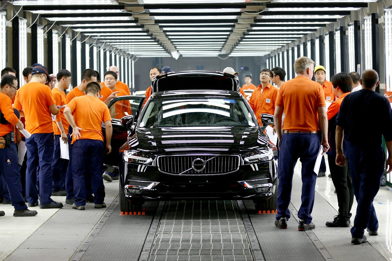 Volvo cars expands production in china and unveils new china strategy volvo car group global media newsroom