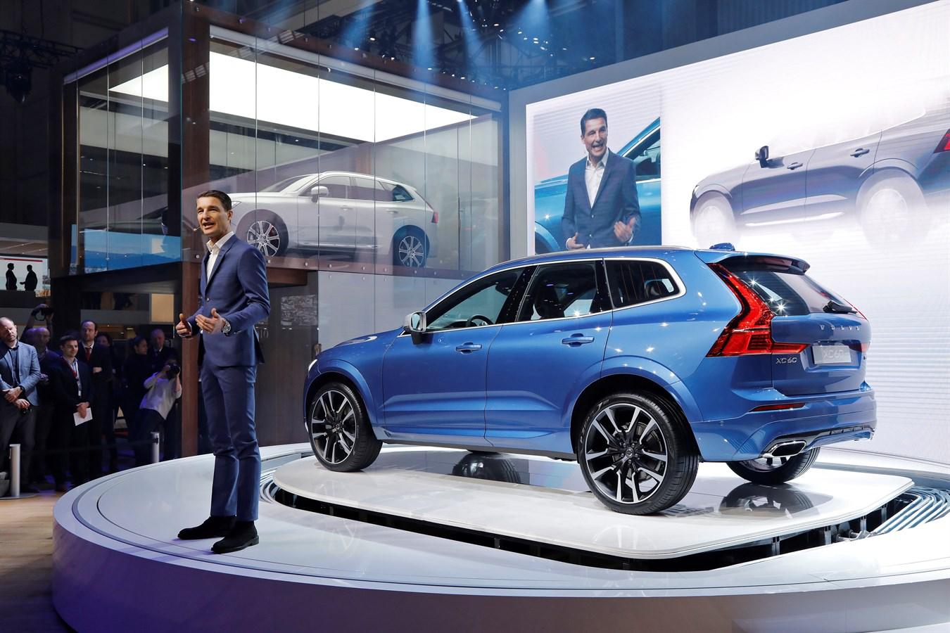 Nouveau Volvo XC60 Salon de Genève & Thomas Ingenlath Senior Vice President Design Volvo Car Group - 7 mars 2017 photo@Ace Team pour Volvo Car France, usage presse et réseaux sociaux exclusivement