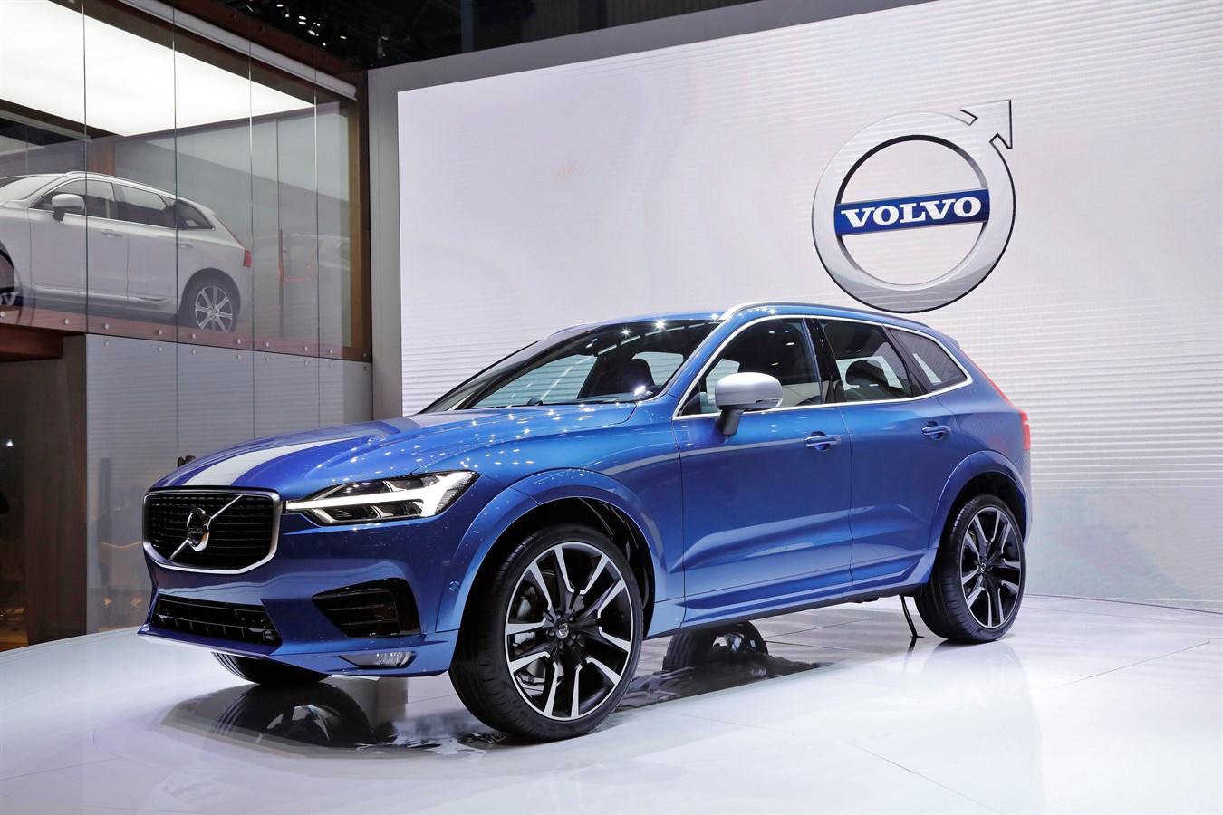 Nouveau Volvo XC60 Salon de Genève - 7 mars 2017 photo@Ace Team pour Volvo Car France, usage presse et réseaux sociaux exclusivement