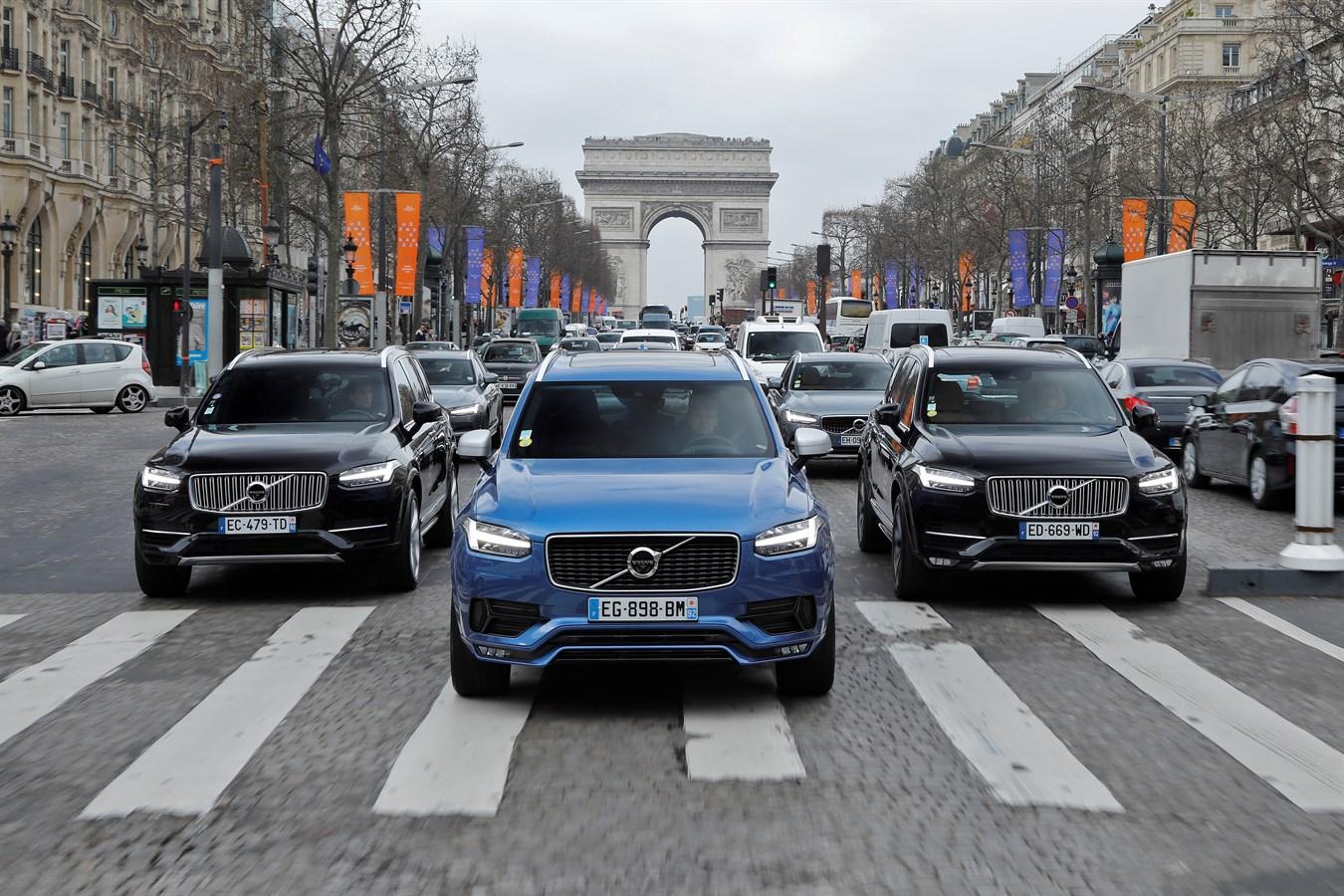 Volvo partenaire du Saut Hermès 2017 - Photos@Ace Team pour Volvo Car France, usage presse et réseaux sociaux exclusivement