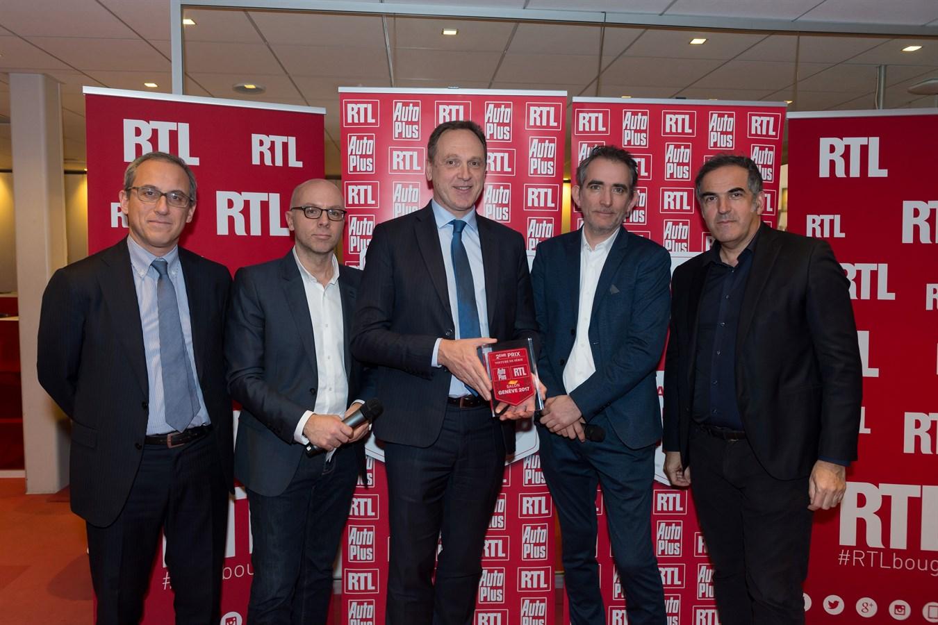 Le nouveau Volvo XC60 plébiscité par les lecteurs d'Auto Plus et les auditeurs de RTL
