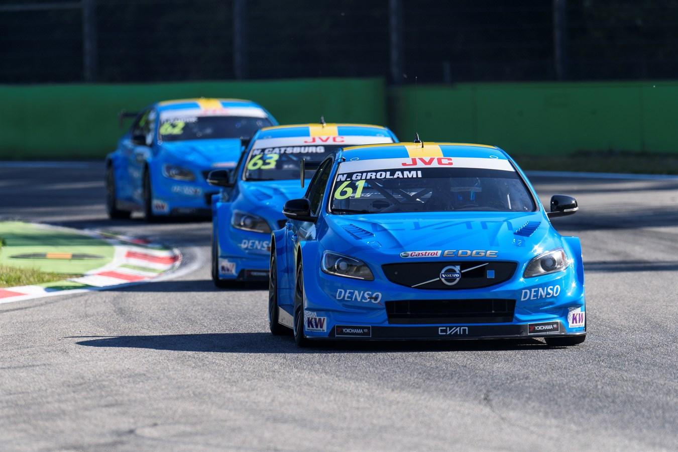 Thed Björk skriver historia på Monza med första VM-pole någonsin