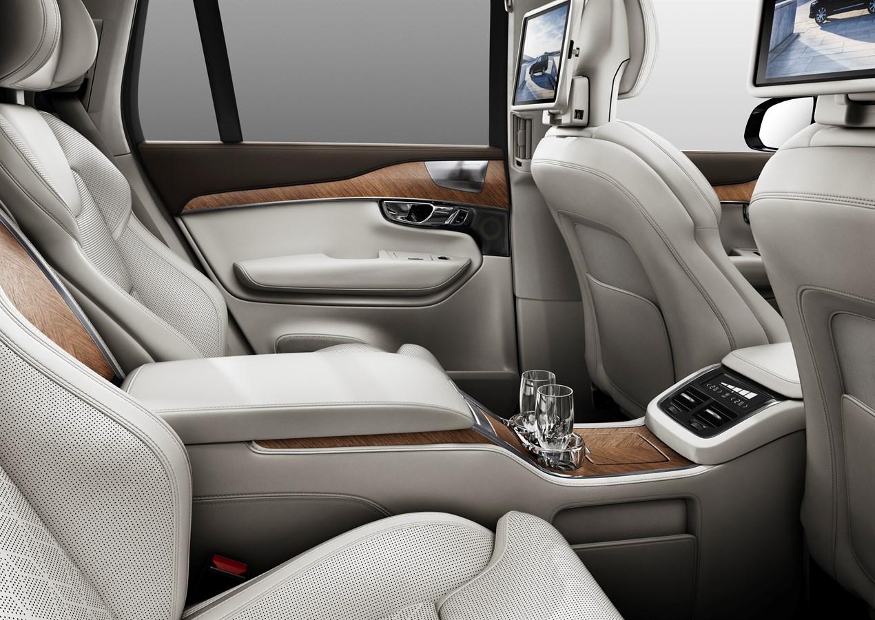 Volvo XC90 Excellence - Interieur - Volvo Car Austria Pressezentrum