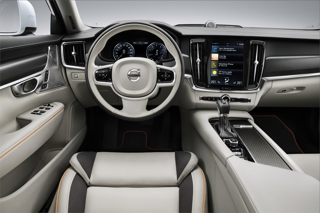 Volvo V90 Cross Country Volvo Ocean Race interior - Volvo Car Group ...