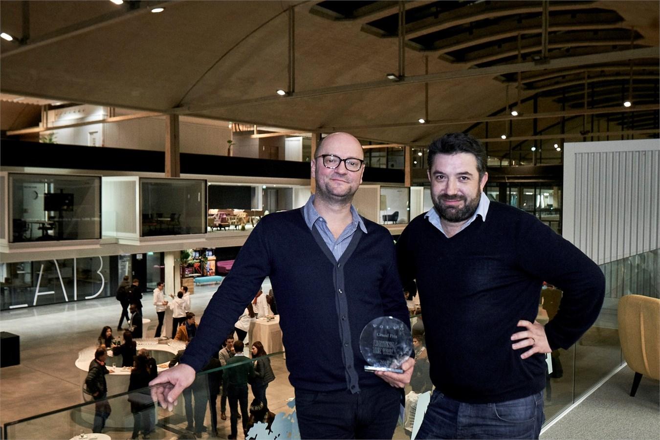 Premier Hackathon Volvo Car France chez Station F 6 & 7 février 2018 : Equipe gagnante Puump!