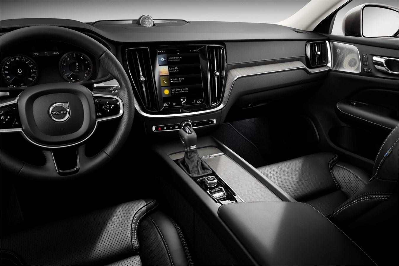 New Volvo V60 Interior Volvo Car Group Global Media Newsroom