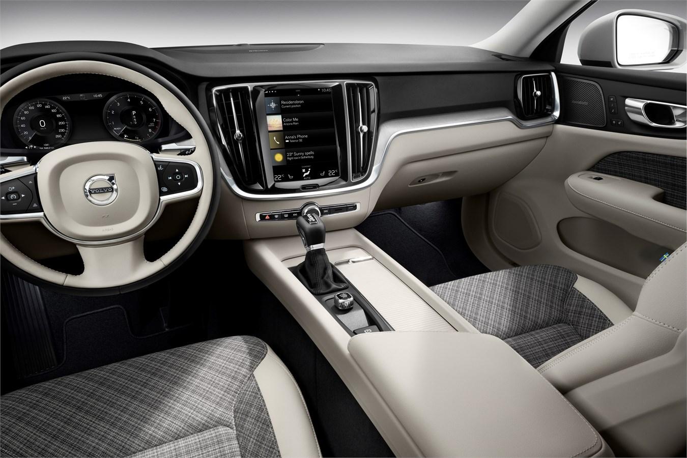 New Volvo V60 - interior design - Volvo Car Group Global Media Newsroom