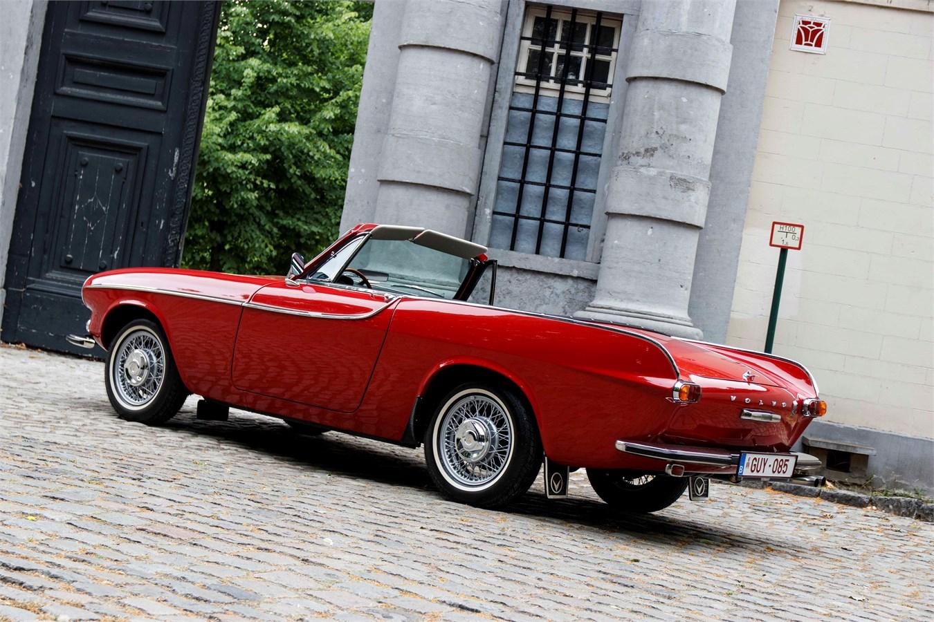 1966 Volvo 1800 S Volvoville Convertible
