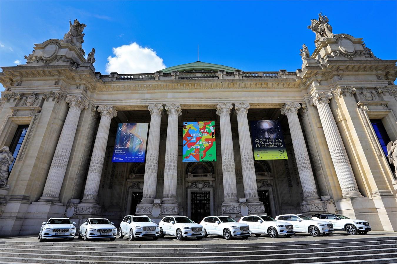 Volvo, partenaire de la neuvième édition du Saut Hermès au Grand Palais 2018