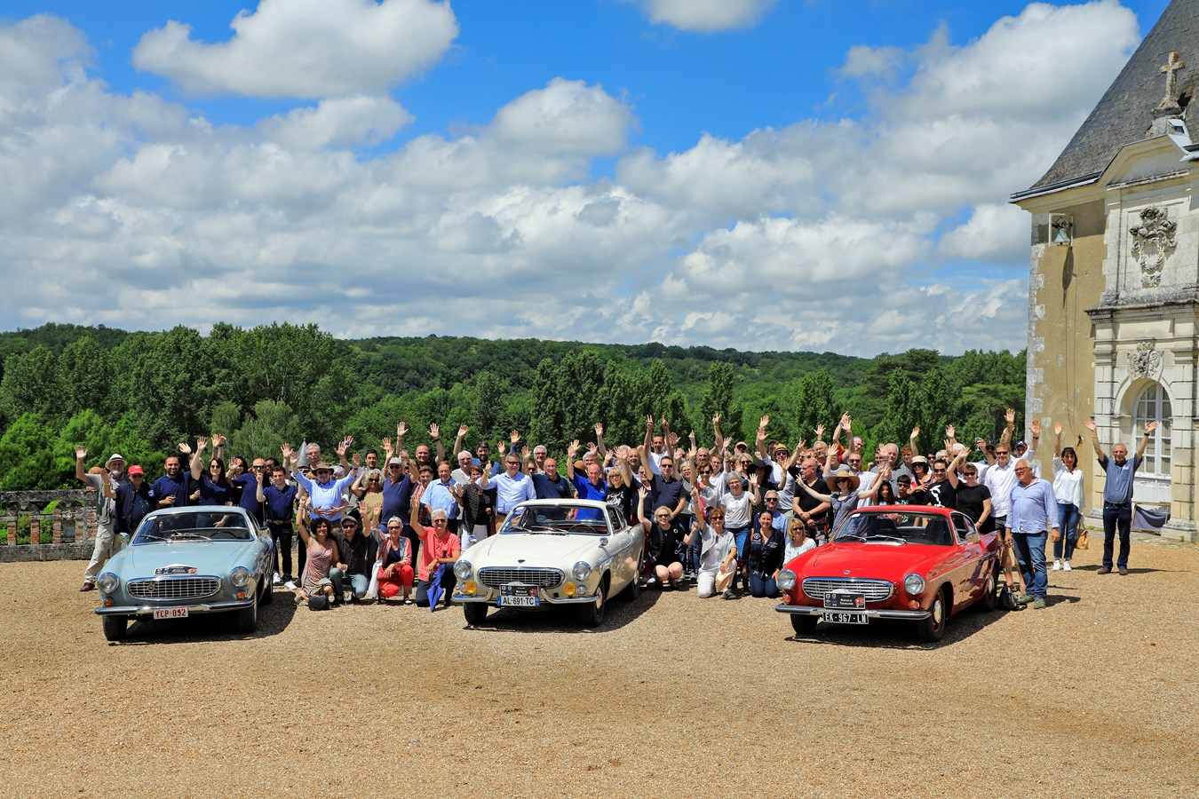 Le Viking Classic Rally 2018 : des Volvo d'exception pour un rassemblement unique