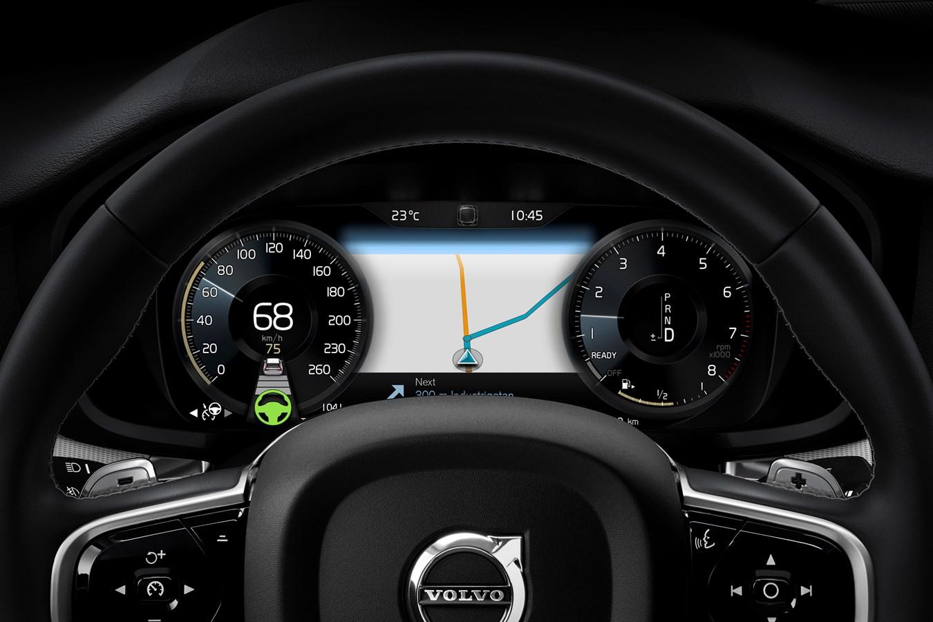 New Volvo S60 R-Design interior