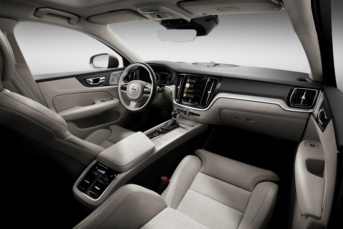 New Volvo S60 Inscription Interior