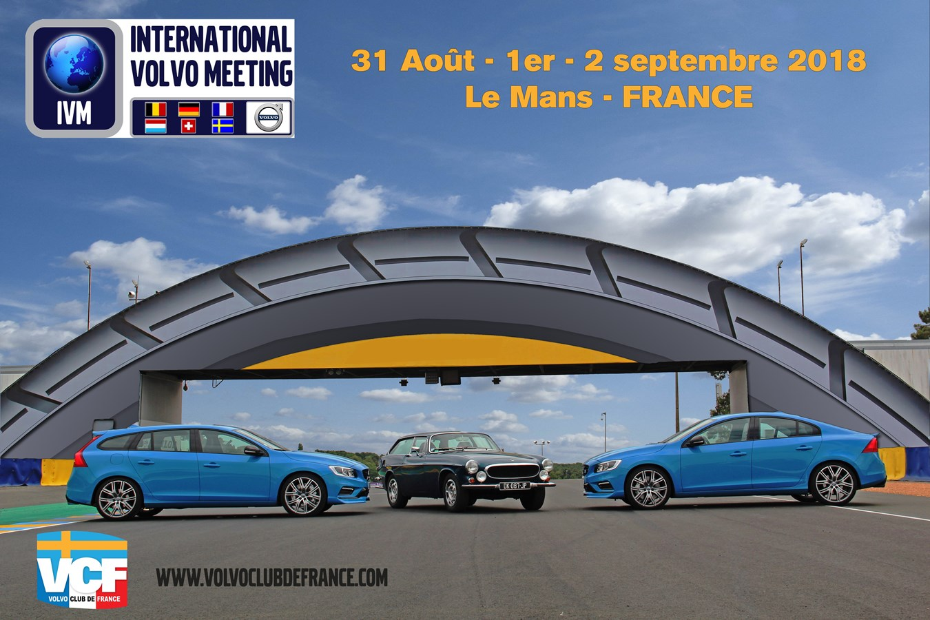 9ème édition de l'INTERNATIONAL VOLVO MEETING (I.V.M)