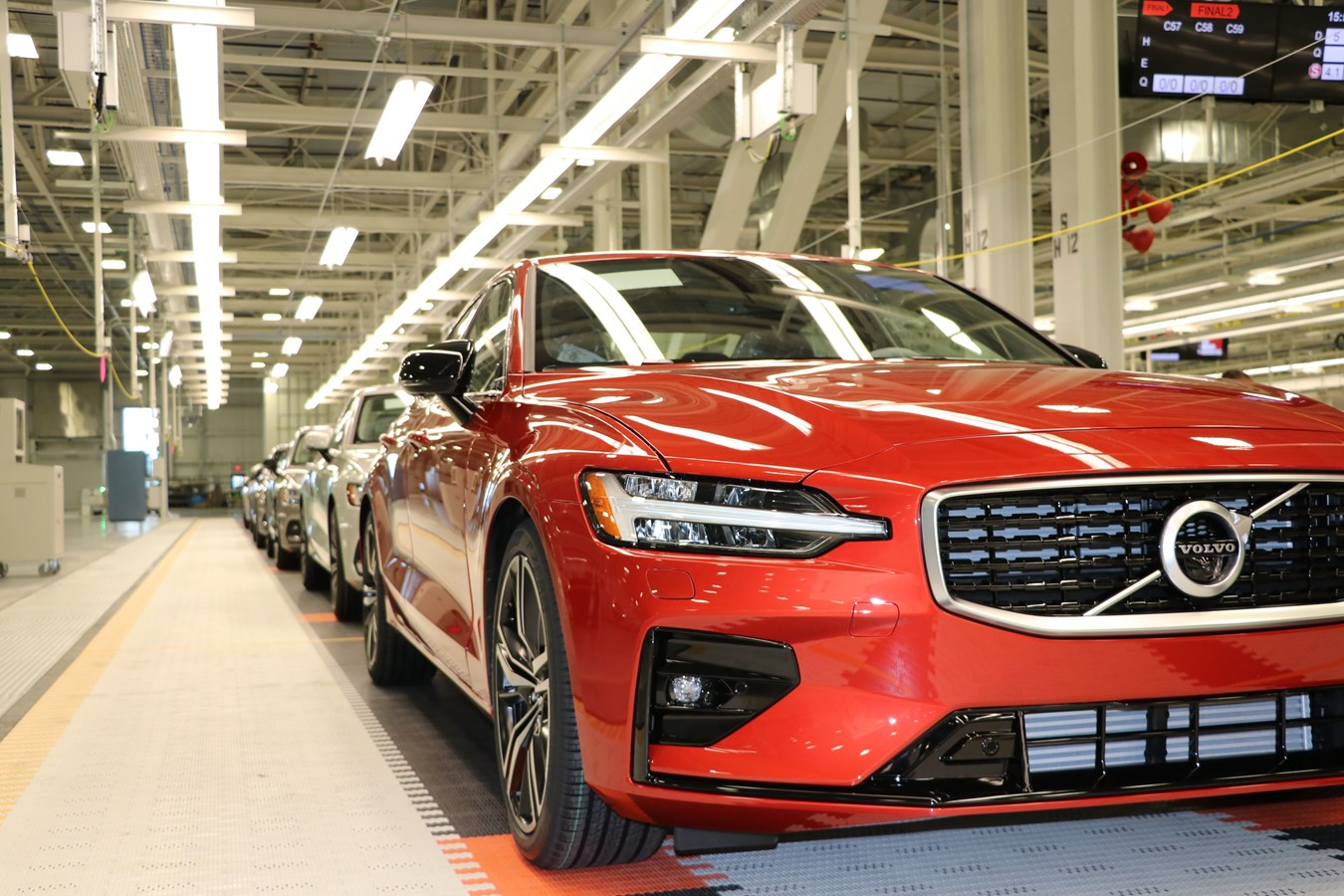 Volvo Cars First American Car Factory Begins Mass Production Volvo Car Usa Newsroom