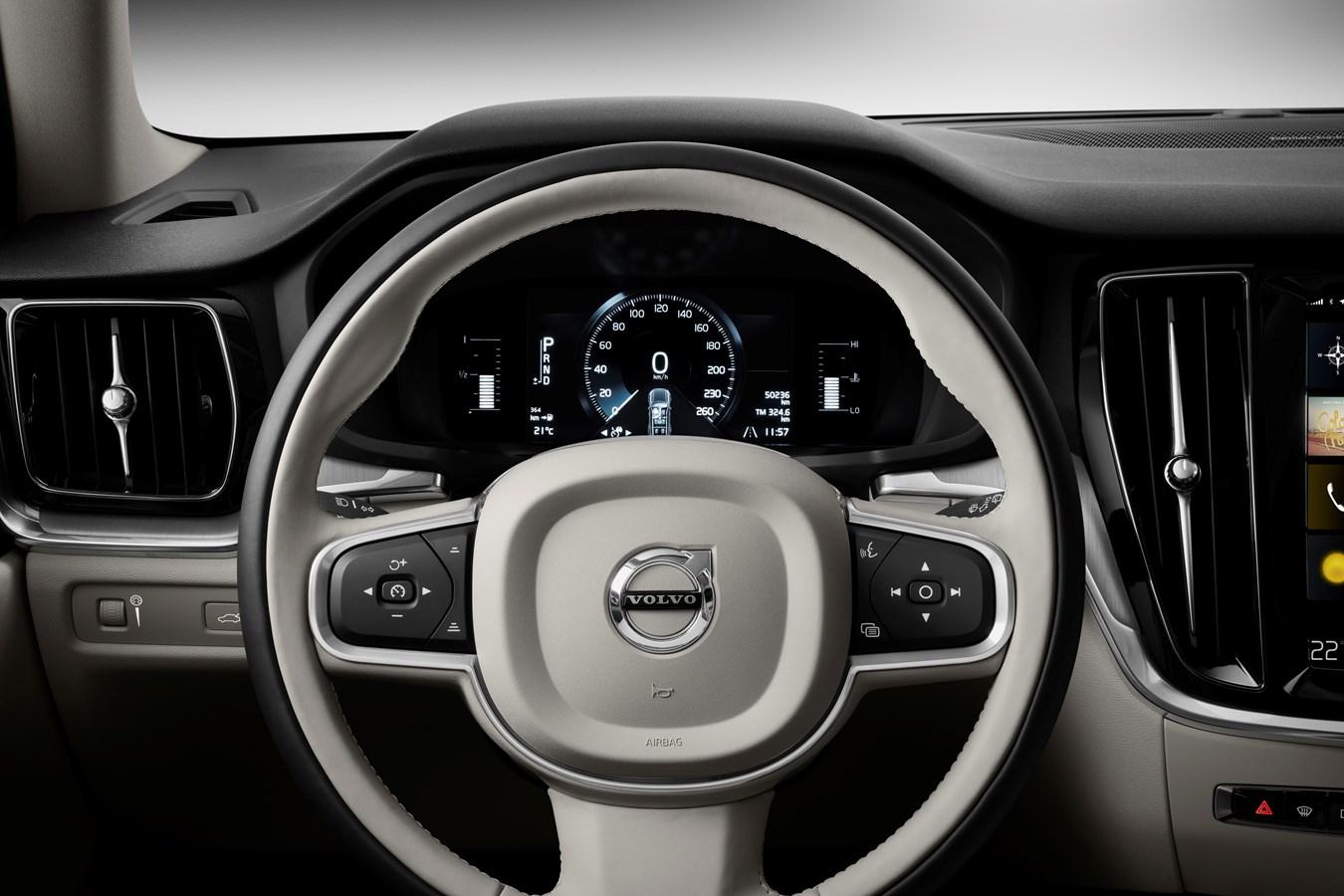 Volvo V60 Cross Country Interieur - Volvo Car Austria Pressezentrum