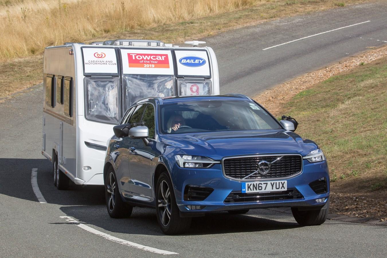 Volvo XC60 wins three titles in 2019 Caravan and Motorhome Club