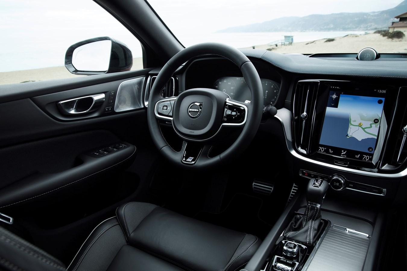 New Volvo S60 R Design Interior Volvo Cars Global Media