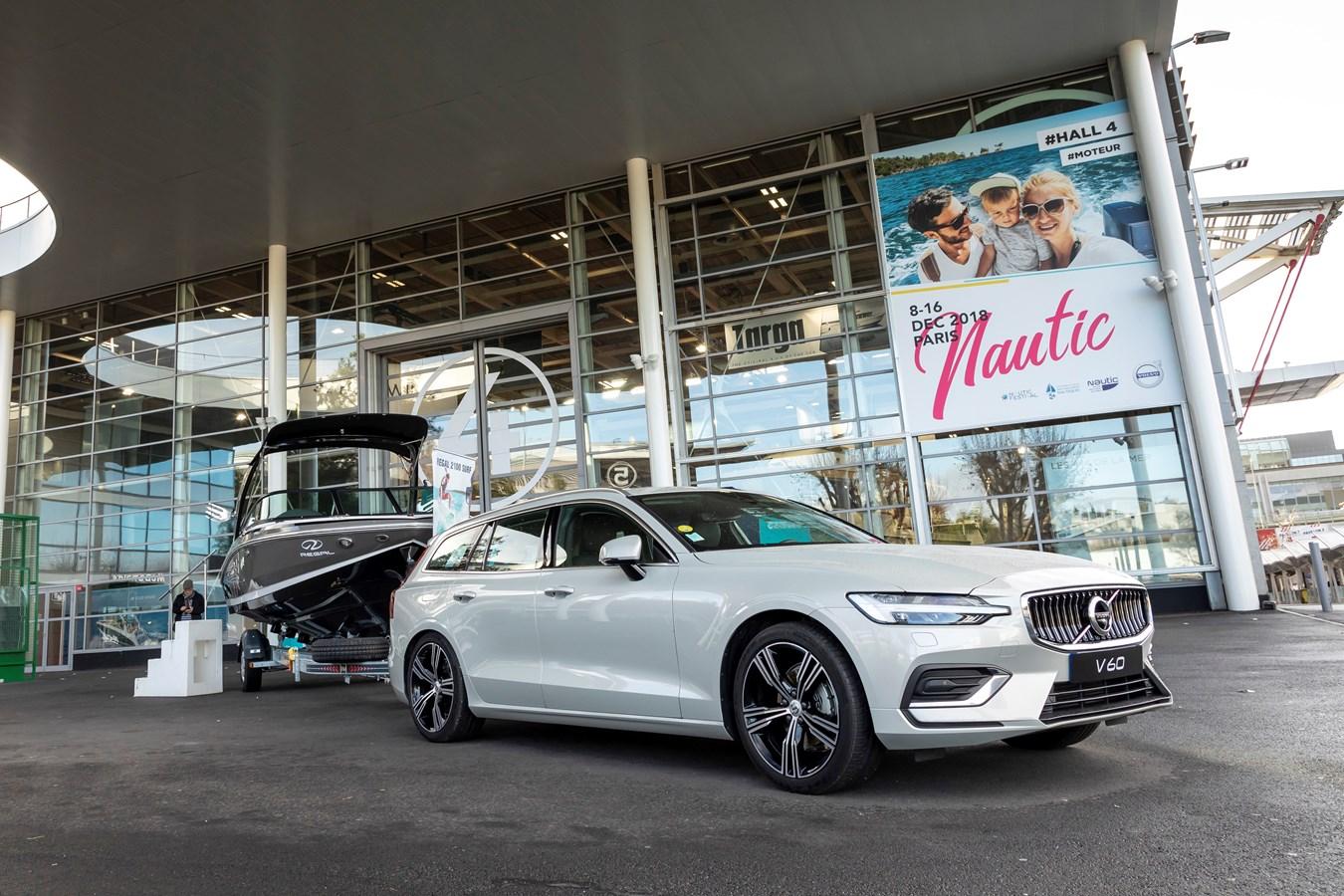 Volvo est le partenaire officiel du Nautic 2018