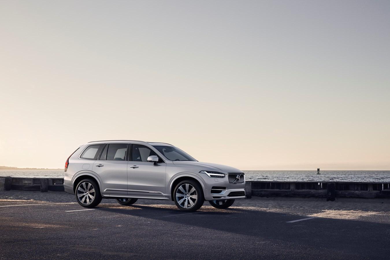 New Volvo XC90 Inscription T8 Twin Engine in Birch Light Metallic