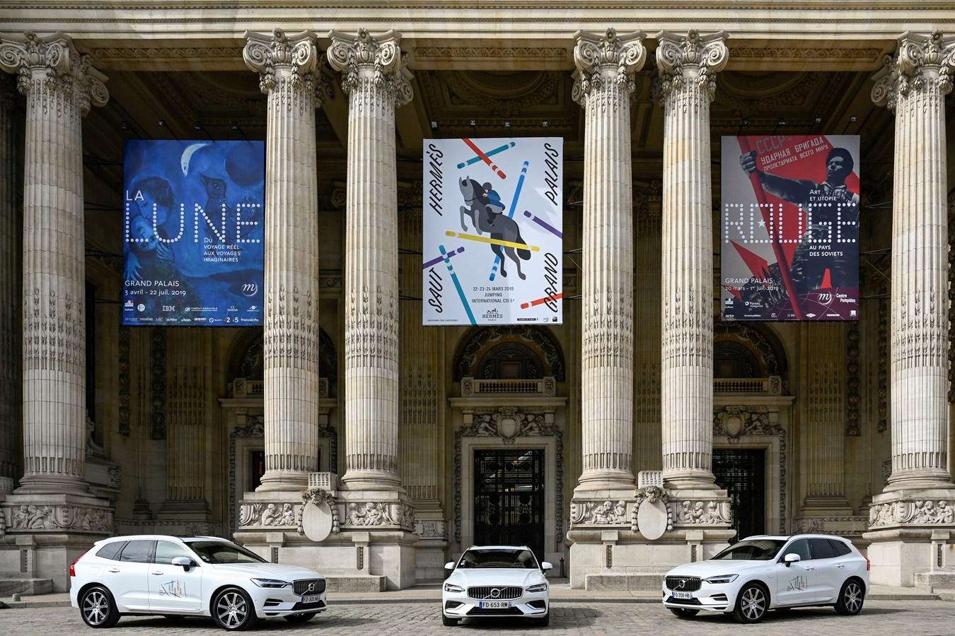 Volvo Cars renouvelle son partenariat avec le Saut Hermès au Grand Palais 2019