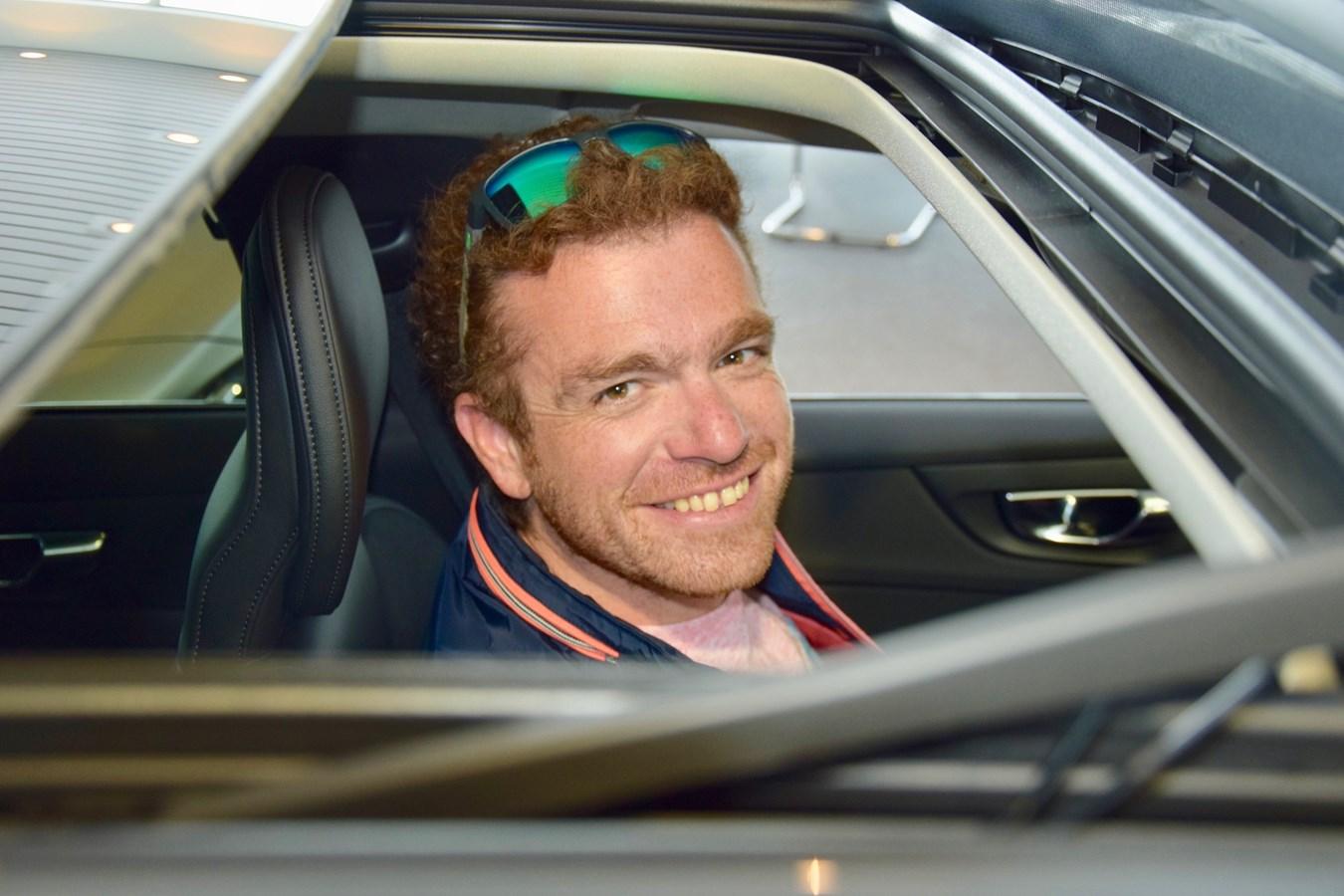 Jonas Gerckens & de V60 Cross Country - Volvo Car Belux