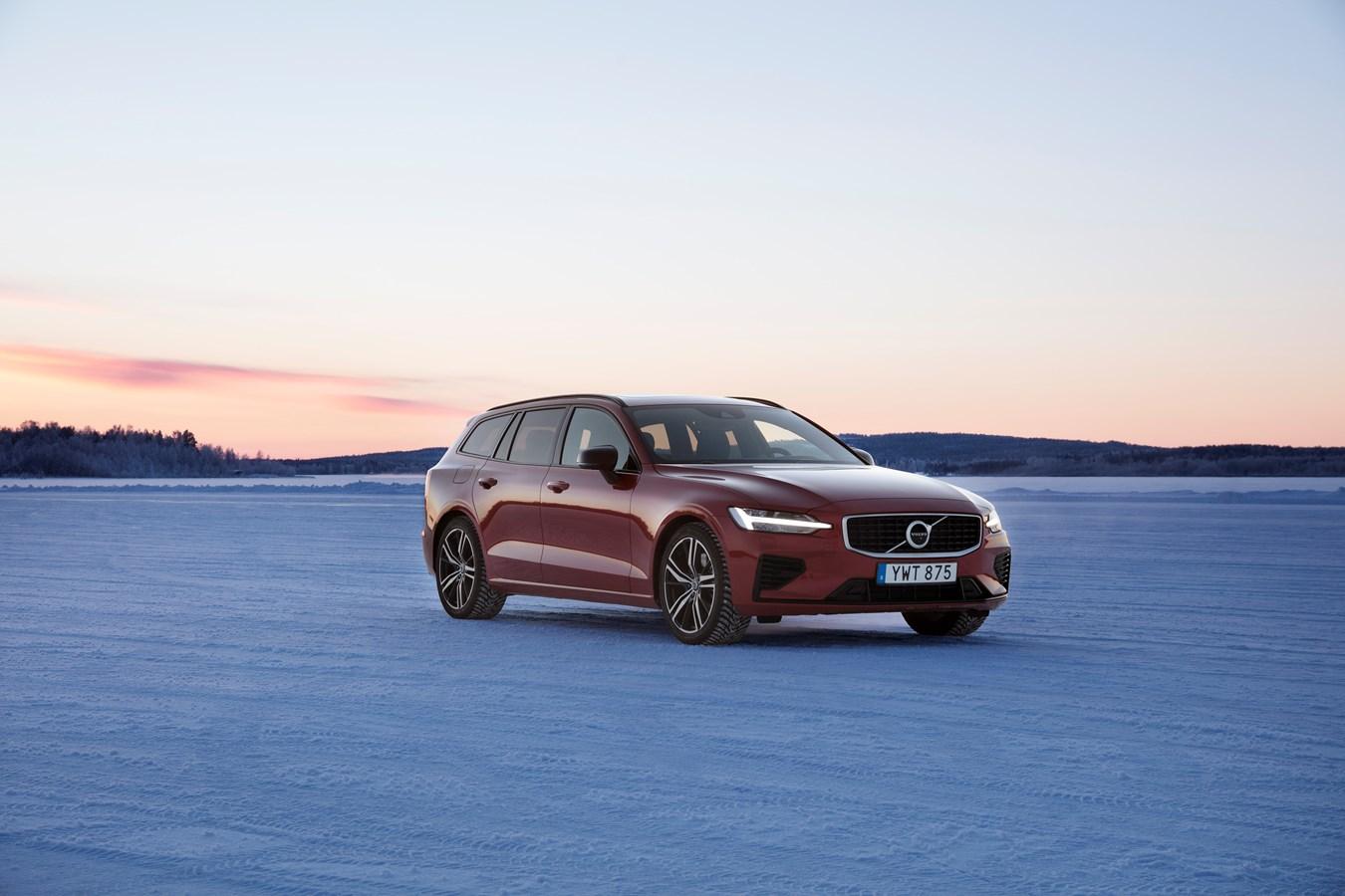Volvo V60 2020 motor prestaties