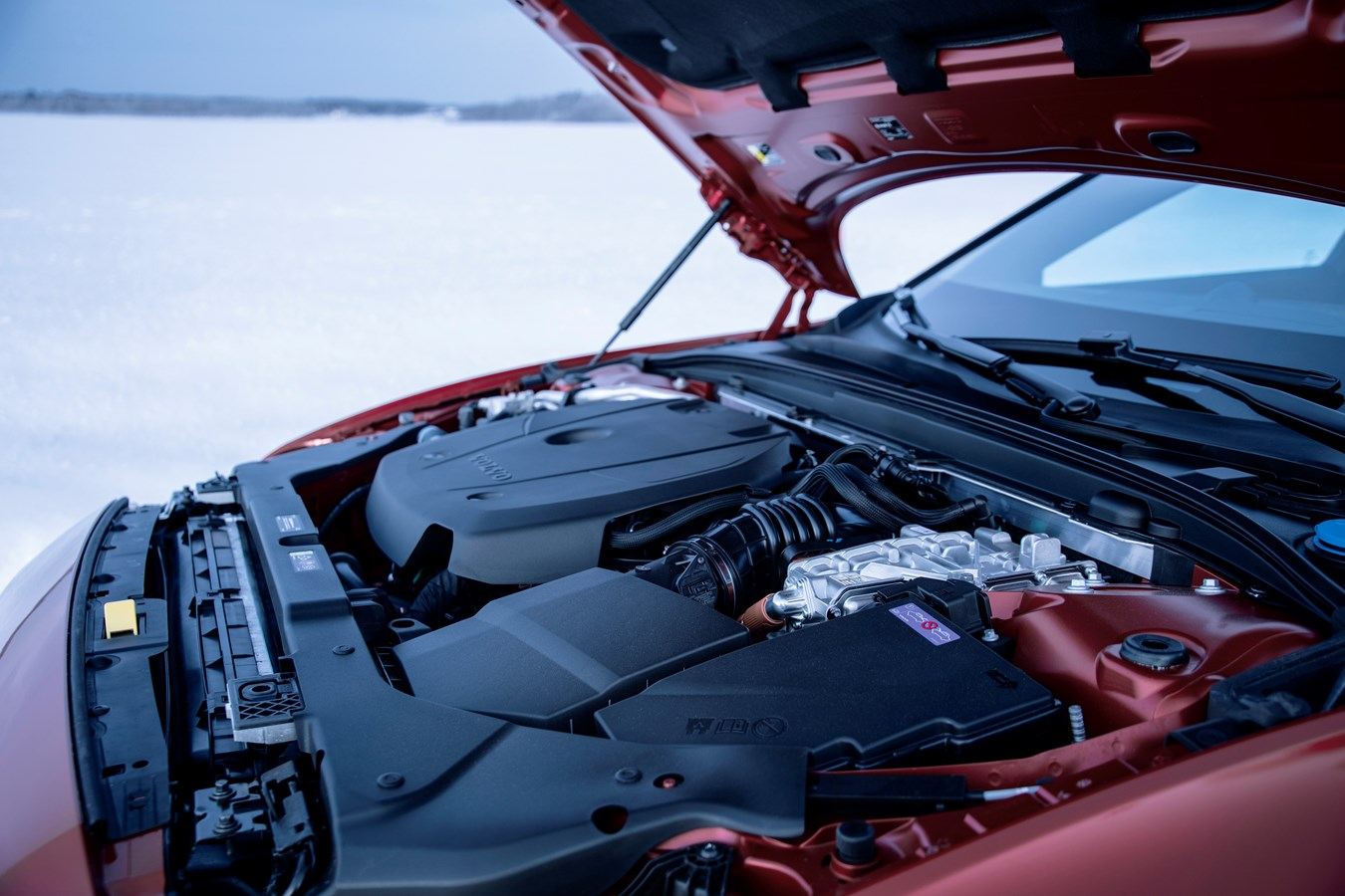 Volvo V60 2020 motor