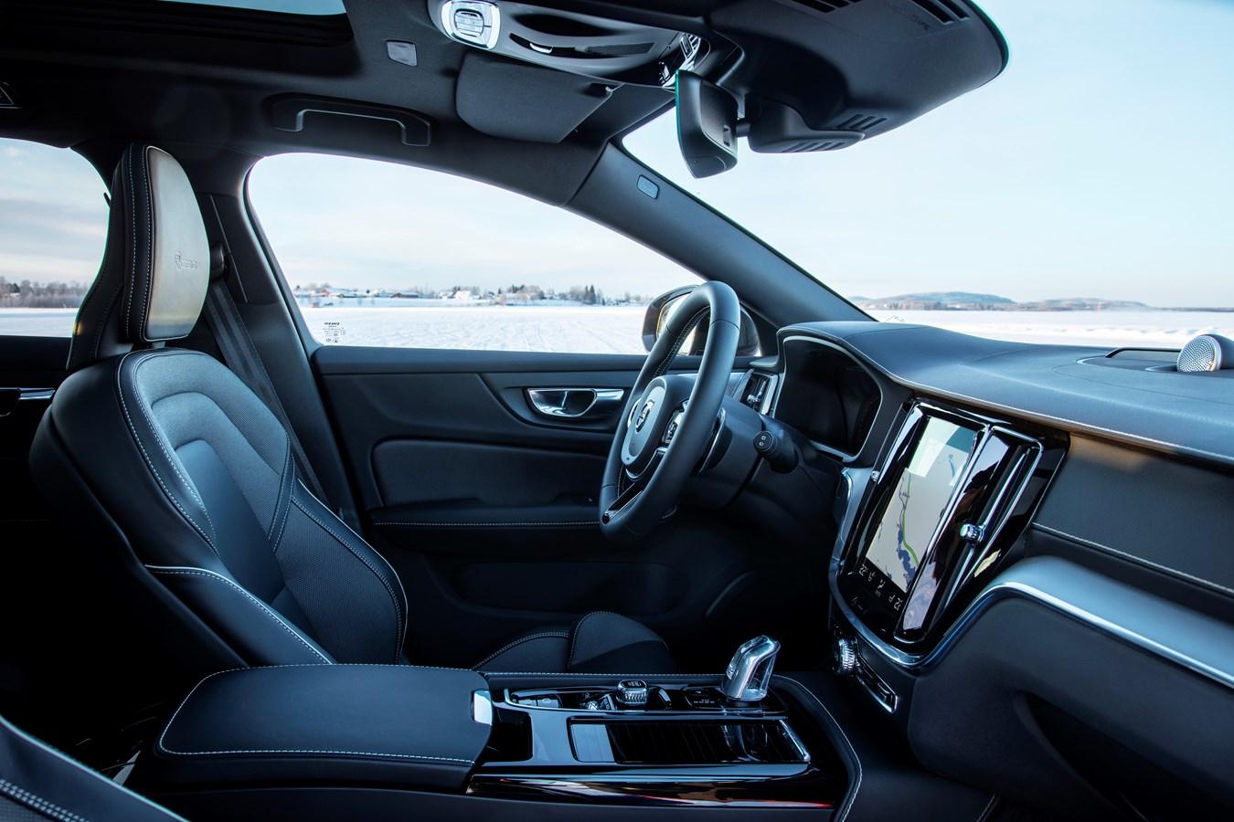 Volvo V60 2020 interieur