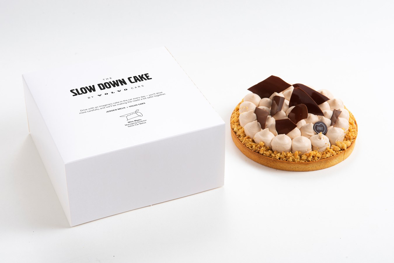 Slow Down Cake by Volvo Cars