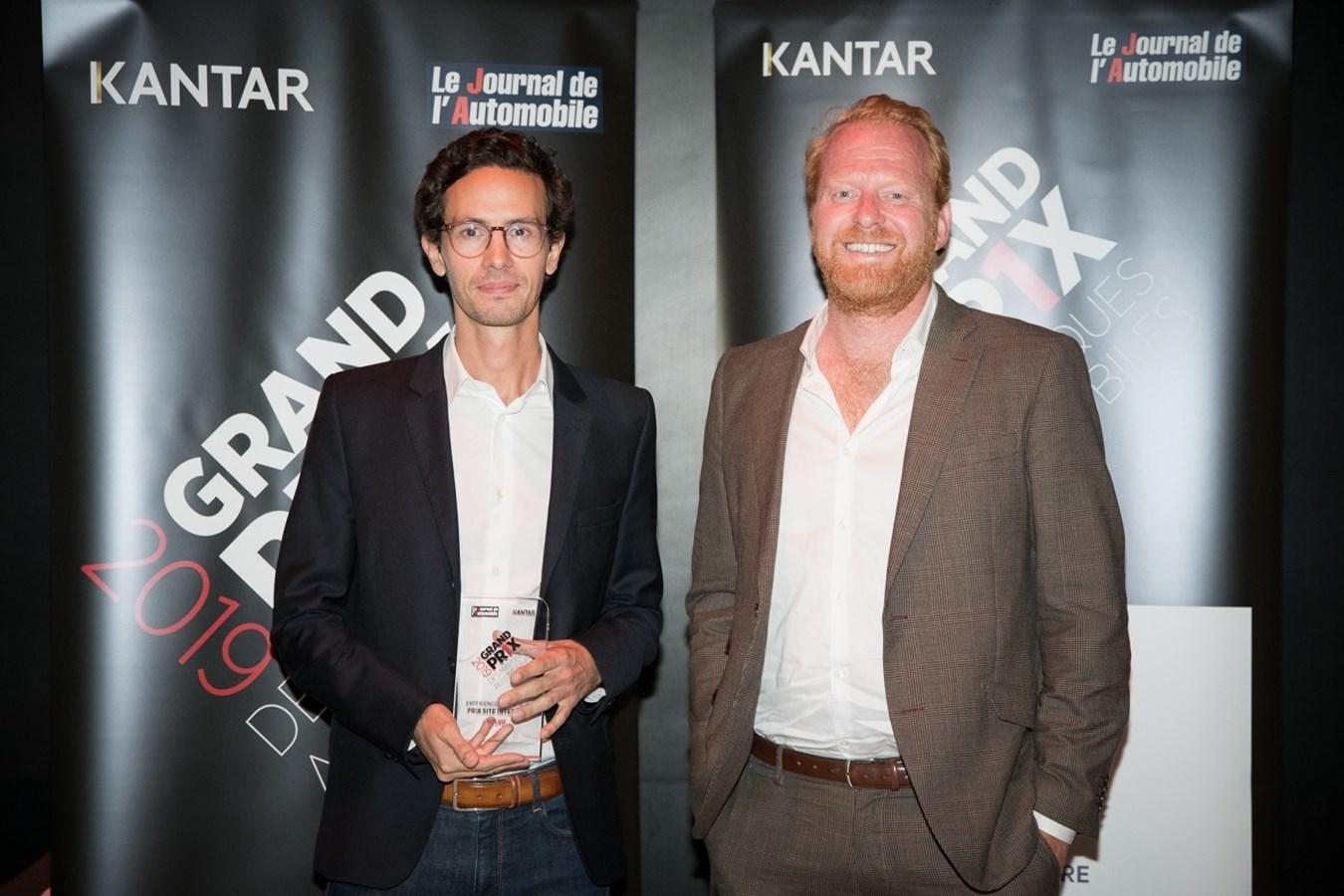 Volvo Cars remporte la catégorie du Prix Site Internet au Grand Prix des Marques Automobiles 2019
