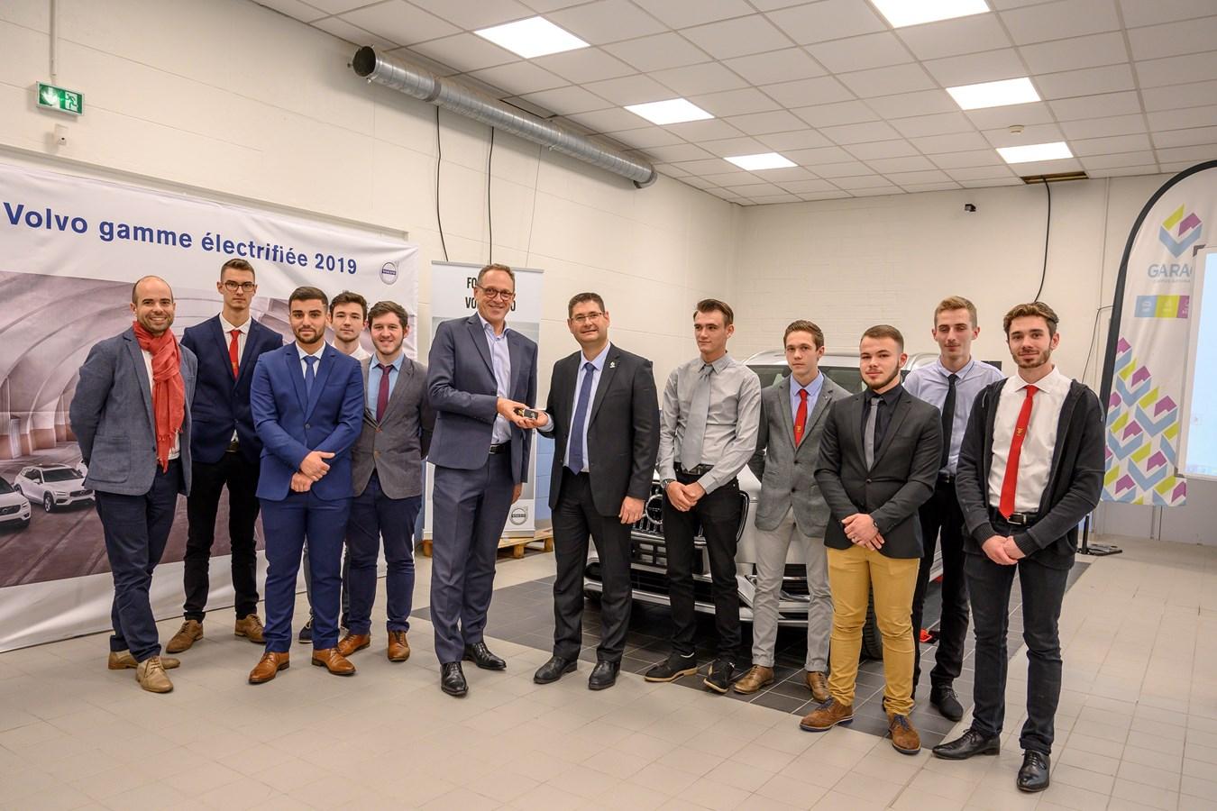 La première promotion Volvo fait sa rentrée au GARAC