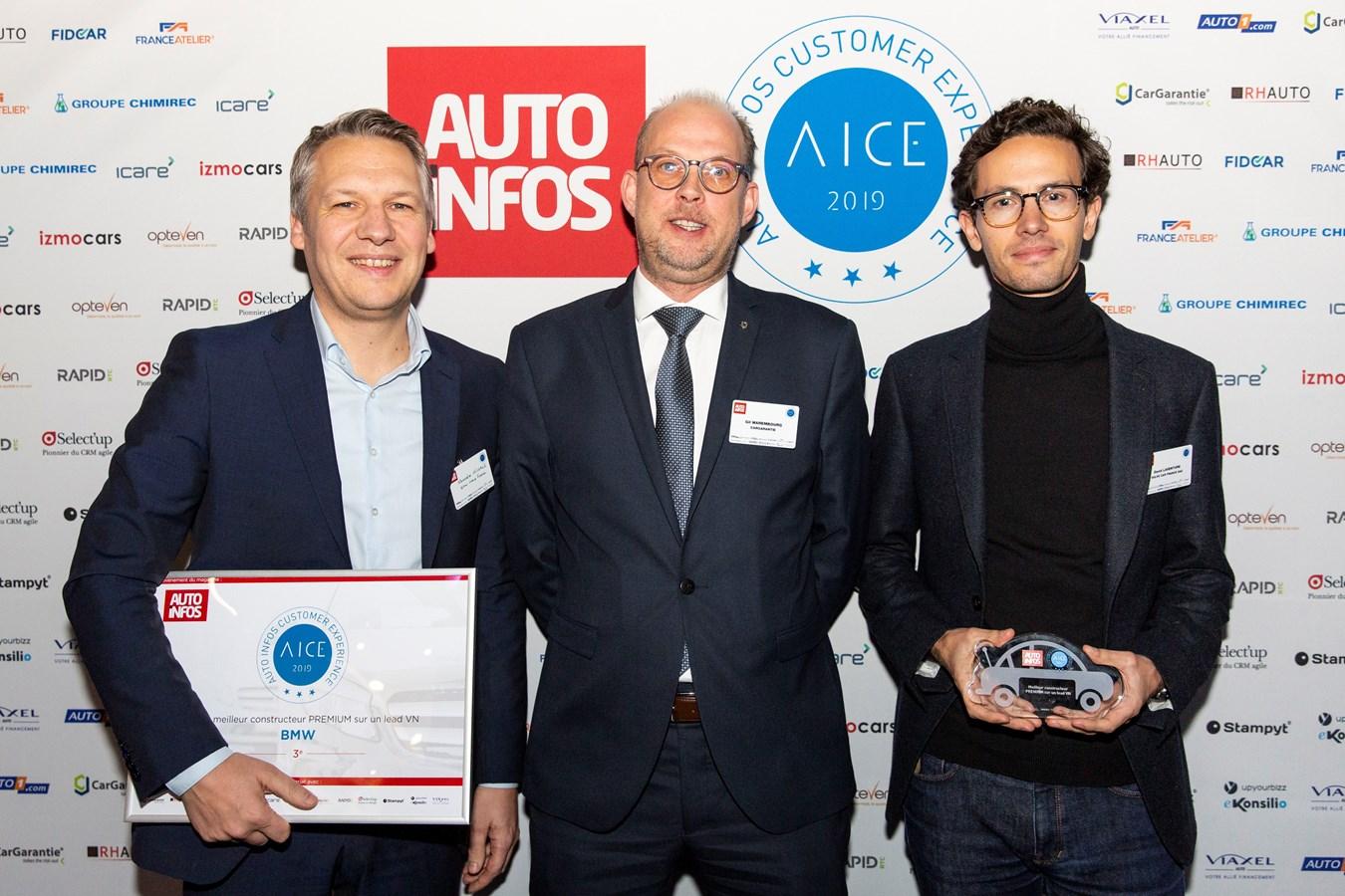 Volvo Car France doublement récompensé aux Trophées Auto Infos Customer Experience 2019