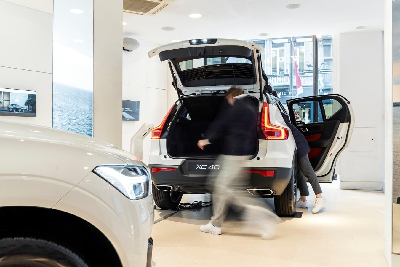 Volvo Pop-Up Showroom ANTWERPEN
