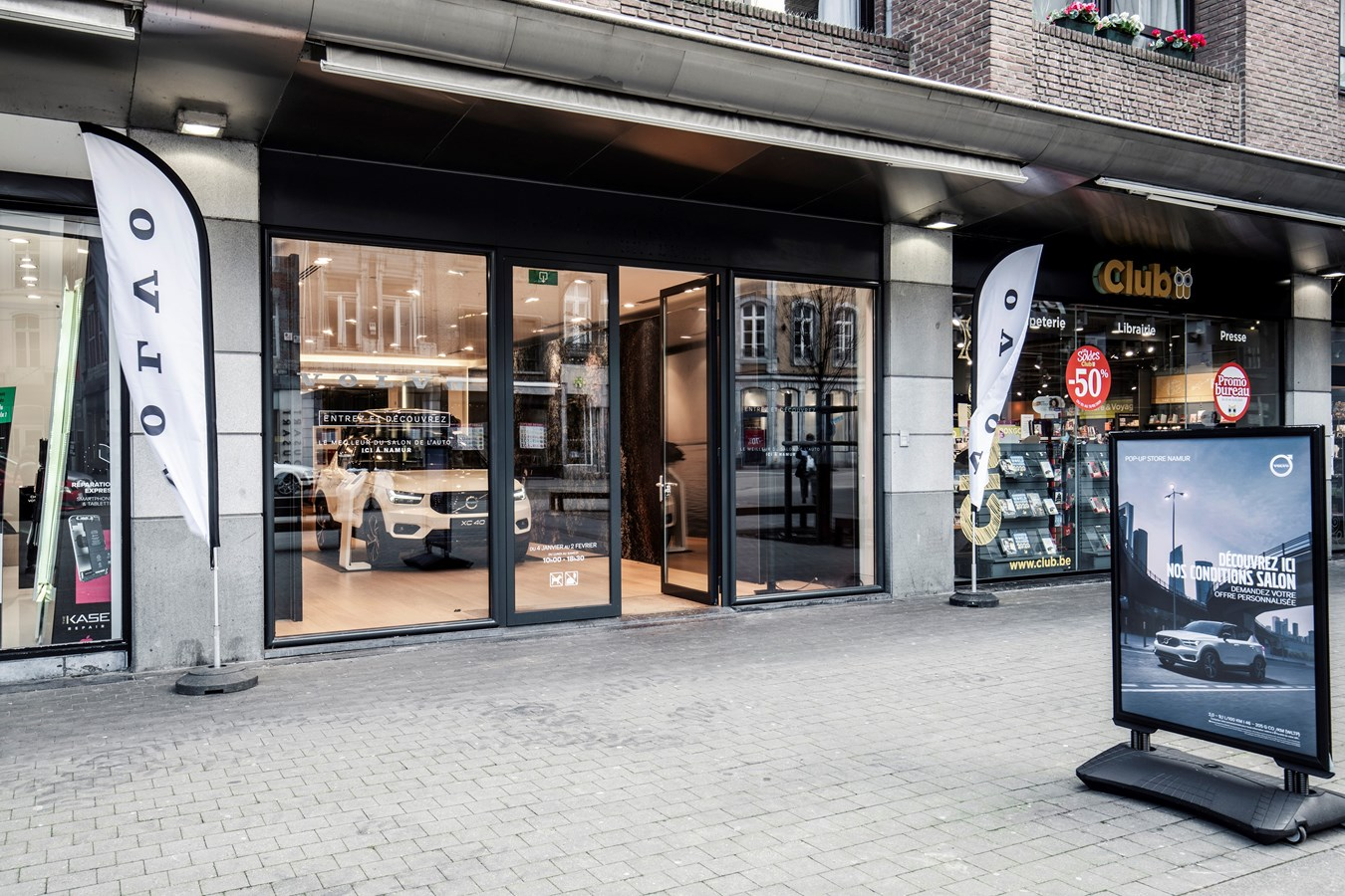 Volvo Pop-Up Showroom NAMUR