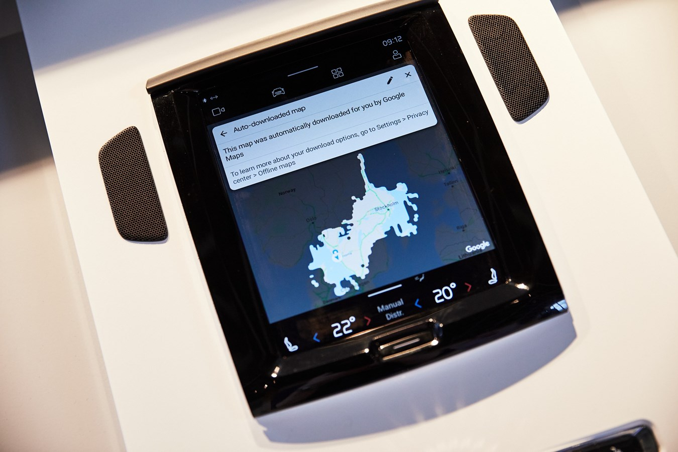 Volvo Cars new infotainment system powered by Android with Google technologies