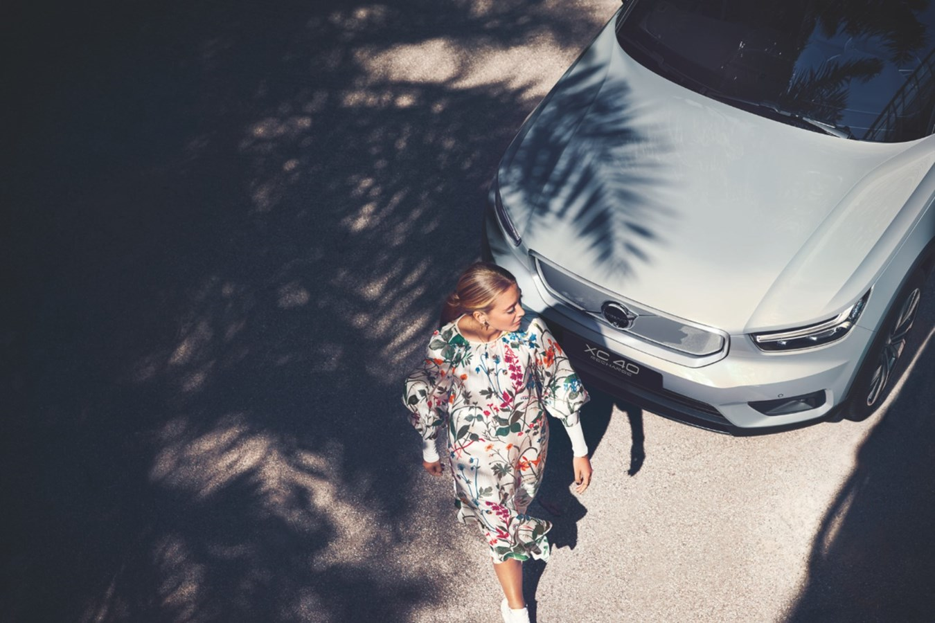 沃尔沃汽车旗下车型XC40 RECHARGE